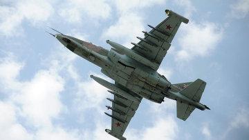 Штурмовик Су-25. Архивное фото