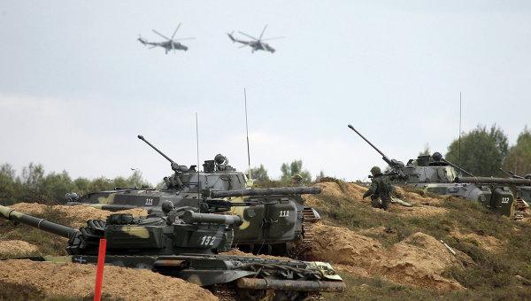 Учения вооруженных сил России и Белоруссии Запад-2013. Архивное фото