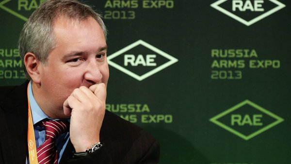Дмитрий Рогозин на IX Международной выставка вооружений Russian Expo Arms-2013