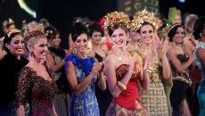 Участницы конкурса красоты Мисс Мира-2013