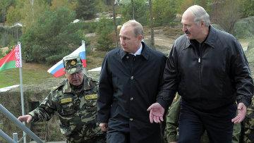 Рабочая поездка В.Путина в Белоруссию. Фото с места события