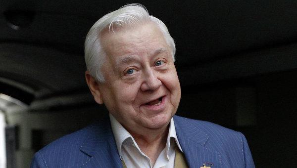 Художественный руководитель театра-студии Табакерка Олег Табаков, архивное фото
