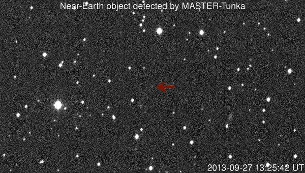 Астероид, обнаруженный астрономами ГАИШ МГУ