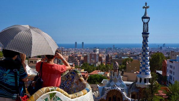 Туристы вБарселоне пожаловались наобилие туристов