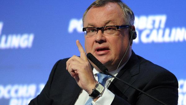 Президент, председатель правления ОАО Банк ВТБ Андрей Костин. Архивное фото