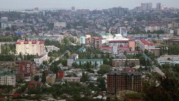 Столица Дагестана Махачкала. Архивное фото