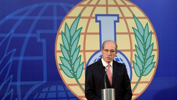 Генеральный директор Организации по запрещению химического оружия (ОЗХО) Ахмет Узюмджю
