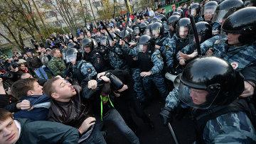 Беспорядки в московском районе Бирюлево, фото с места событий