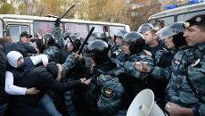 Беспорядки в московском районе Бирюлево, архивное фото