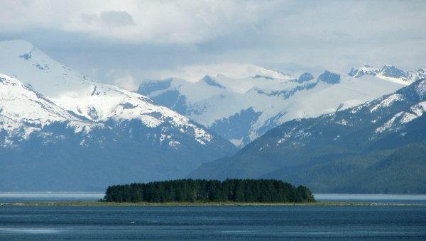 Горы Аляски. Архивное фото