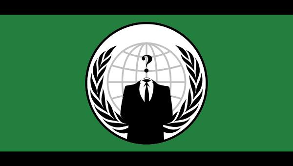 Флаг группировки Anonymous