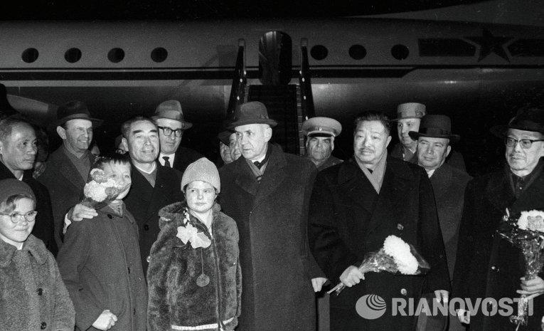 Встреча китайской и вьетнамской делегации