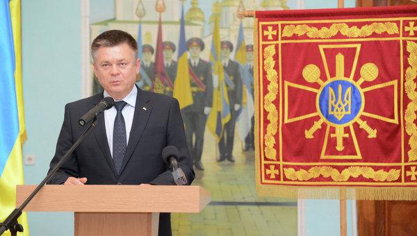 Министр обороны Украины Павел Лебедев, архивное фото