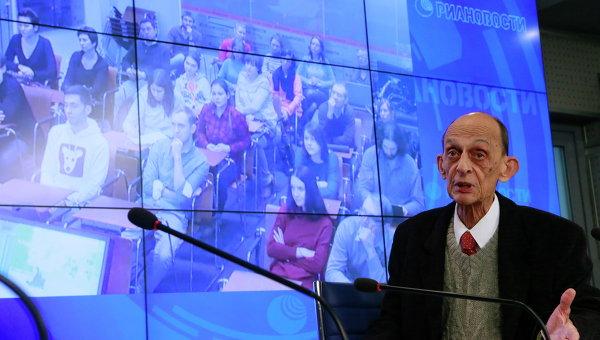 Открытая лекция Виктора Голышева в РИА Новости