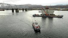 Новый мост в Красноярске: два года с начала стройки