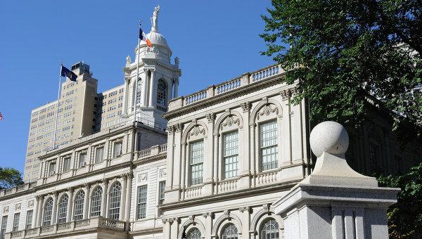 Здание мэрии Нью-Йорка