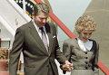 Рональд Рейган с супругой Нэнси Рейган