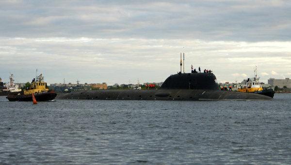 АПЛ Северодвинск, архивное фото