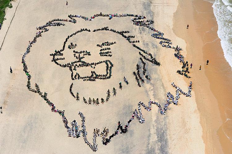 Две тысячи молодых активистов обращаются к участникам переговоров ООН в Дурбане (ЮАР) в 2011 году