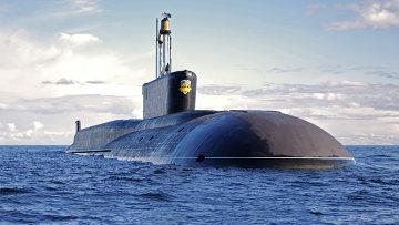 Стратегическая атомная подводная лодка (проект 955 Борей) Александр Невский