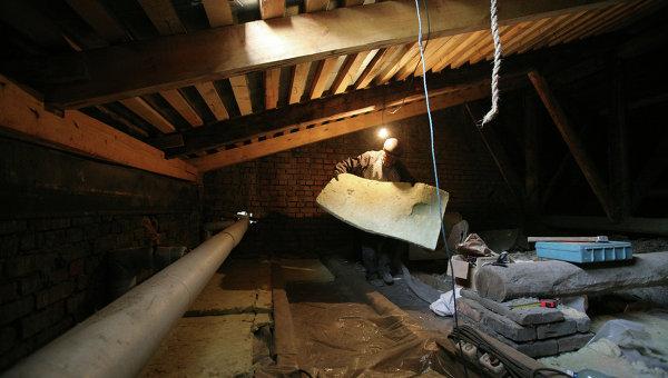 Капитальный ремонт дома. Архивное фото