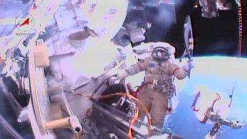 Олимпийский факел впервые в истории вынесли в открытый космос