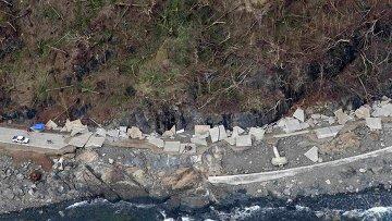 Последствия тайфуна на Филиппинах, фото с места события
