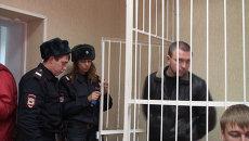 Экс-инспектор ДПС Мозго арестован в Новосибирске. Видео из зала суда