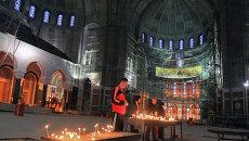 В храме Святого Саввы