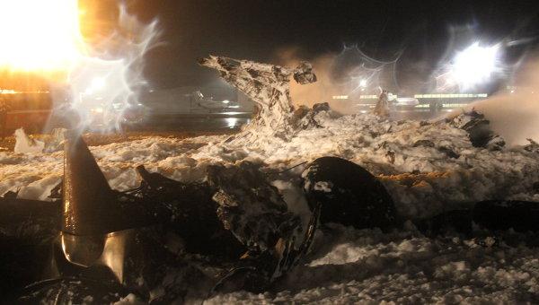В аэропроту Казани разбился пассажирский самолет