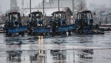 Снег во Владивостоке. Архивное фото