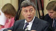 Председатель правления Газпромбанка Андрей Акимов. Архивное фото