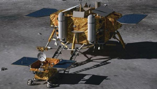 Китайский зонд Чанъэ-3, архивное фото