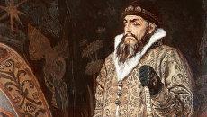 Картина Васнецова Царь Иван Грозный из собрания Государственной Третьяковской галереи