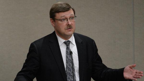 Глава международного комитета Совфеда Константин Косачев. Архивное фото