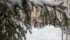 Снежная каша и снежная сказка: в Томске наступила зима за одну ночь