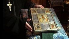Святыни храма Казанской иконы в Вырице Ленобласти показали прихожанам