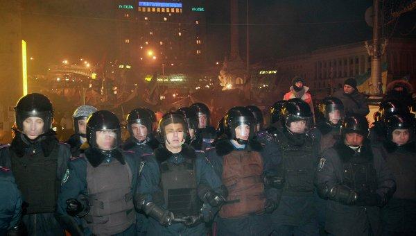 Штурм Майдана в Киеве. Фото с места событий