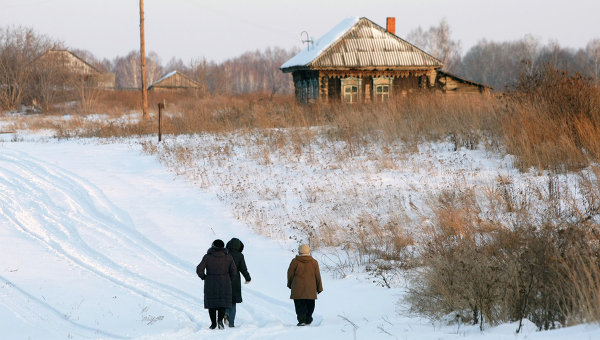 Исчезающая деревня Березовка Новосибирской области. Архивное фото