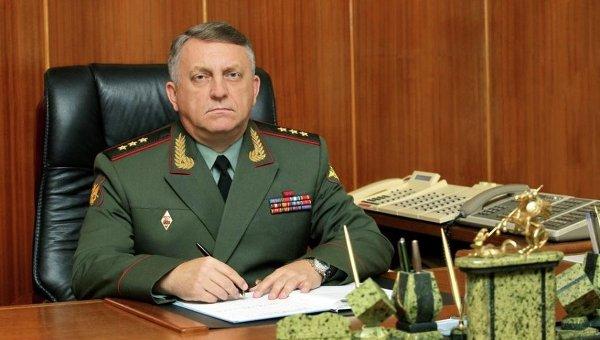 Командующий РВСН генерал-полковник Сергей Каракаев