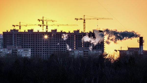Строительство в Москве. Архивное фото