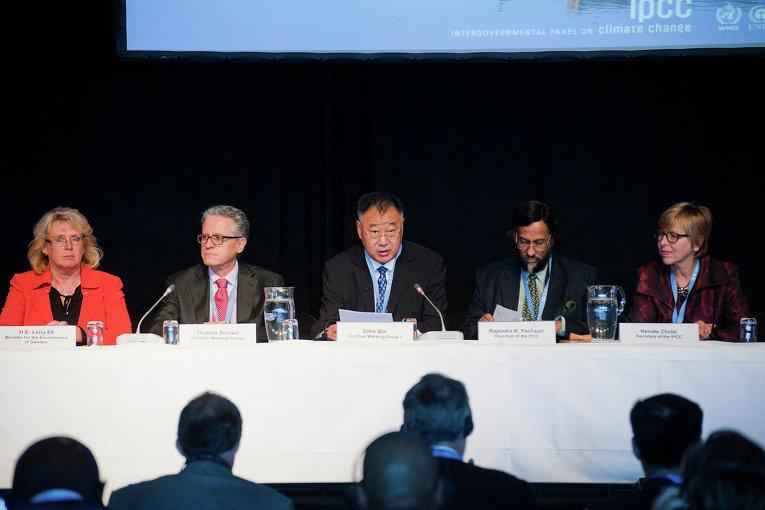 Руководство группы экспертов ООН по климату на итоговом заседании