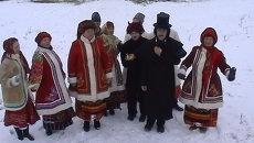 Как отмечают Рождество жители и туристы в Диканьке. 6 января