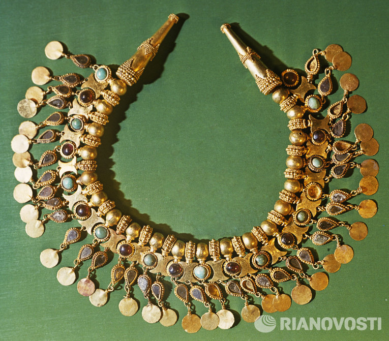Золото бактрии: сокровища, найденные легендарным российским .