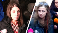 Мария Алехина пообщалась с журналистами после освобождения по амнистии