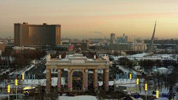 Всероссийский выставочный центр в Москве. Архивное фото