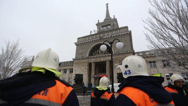 Теракт на железнодорожном вокзале в Волгограде. Архивное фото