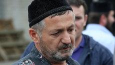 Отец убитого в США Ибрагима Тодашева Абдулбаки Тодашев, архивное фото