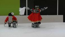 Томский студент показал, как научил робота исполнять народный танец