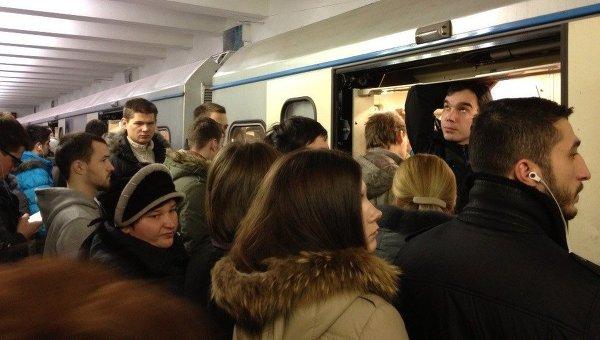 Ситуация на станции метро Севастопольская